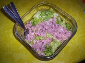 Salada Atúm Light