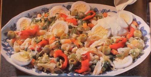 Saladinha de Bacalhau
