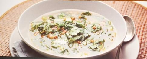 Sopa de Lentilhas com Acelgas