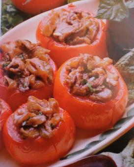 Beringelas no Tomate