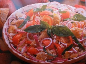 Salada de Pão Rica