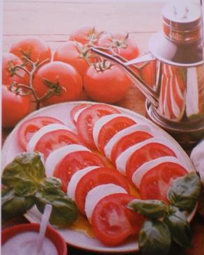 Tomate Casado com Queijo Mozzarella