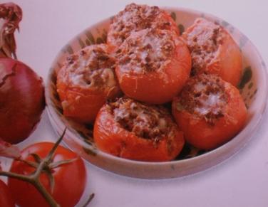 Tomates Recheados à Grega