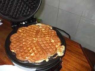 Waffles Caseiras