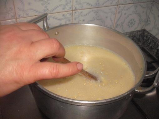 Preparação Leite de Creme
