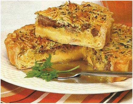 Tarte de Carne com Batata Palha