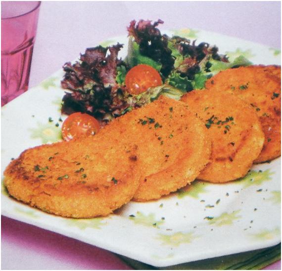 Hambúrgueres de salmão com camarão