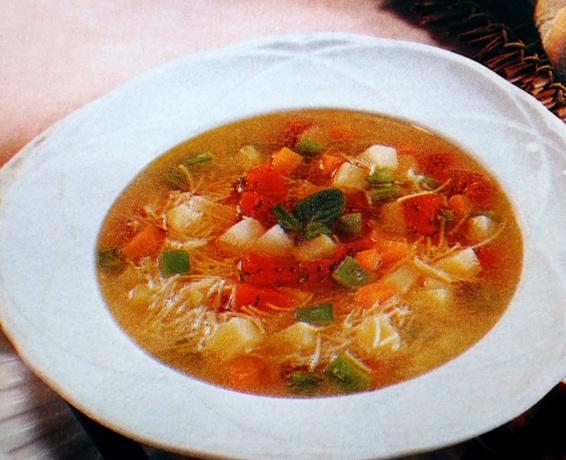 Minestrone de legumes