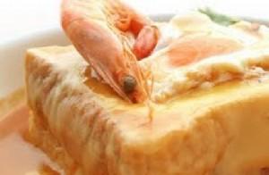 francesinha com lagostim