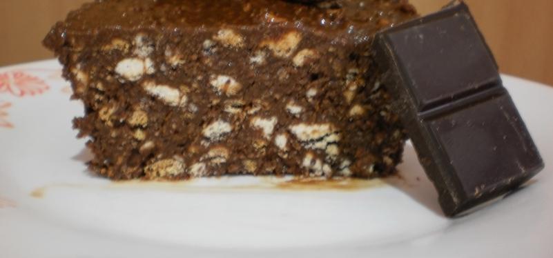 Salame com Sabor a Chocolate e Côco