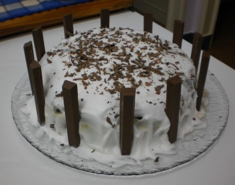 Bolo de Aniversario Castelo de Chocolate