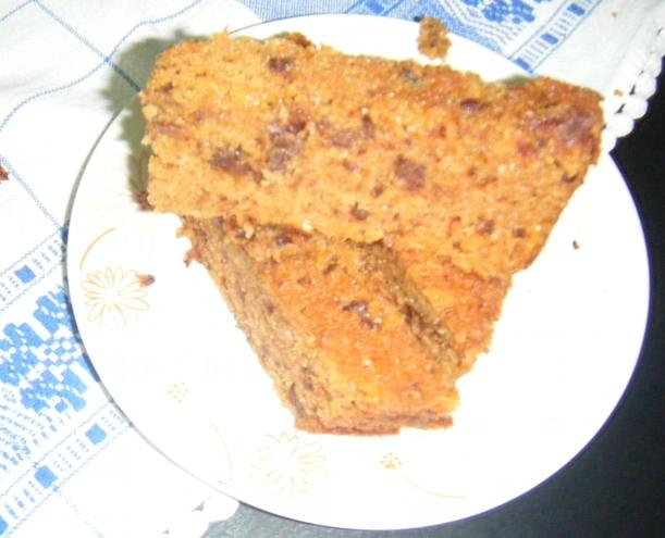 Pão de Abóbora com pepitas de Chocolate